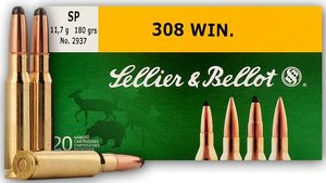 Sellier & Bellot 308 Win, SP, 11,7g, SB